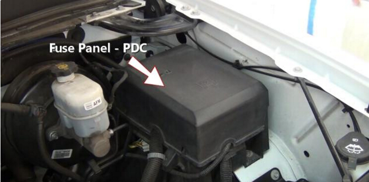 2 step to test and replace ABS Fuse-1