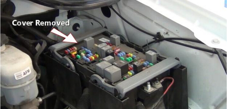 2 step to test and replace ABS Fuse-2