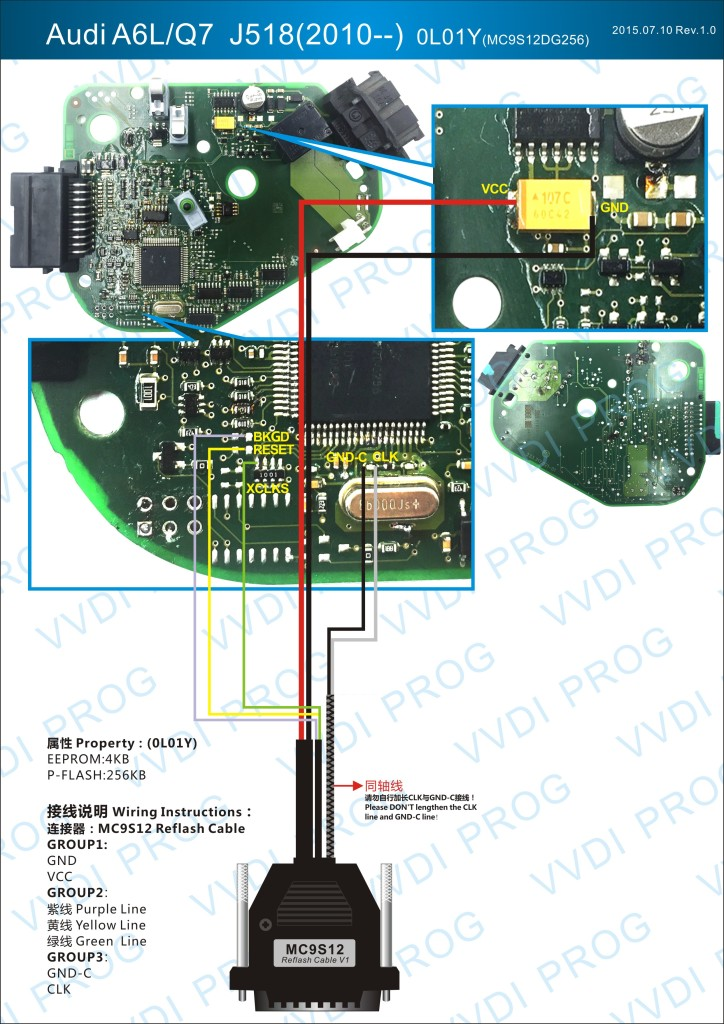audi a6l q7 j518 module vvdi prog wiring diagram auto. Black Bedroom Furniture Sets. Home Design Ideas