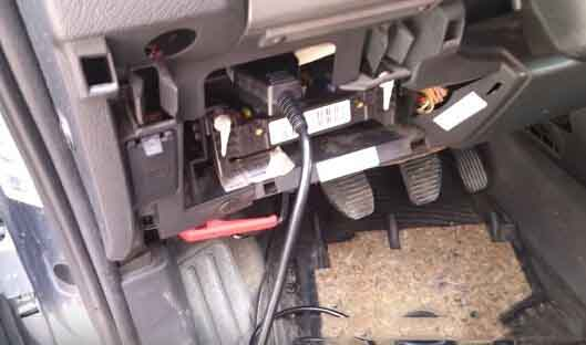 Read & Write CITROEN BERLINGO ECU EDC16c34 via OBD-2