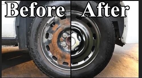 how to paint wheels on your car