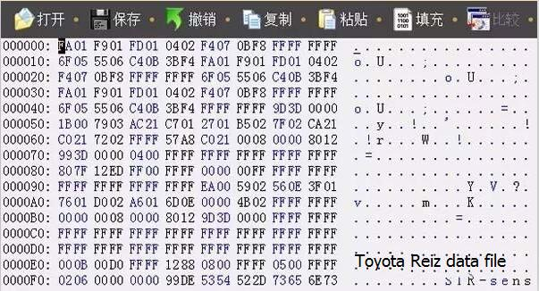 How restore Data Damaged of Toyota Steering Angle Sensor-4