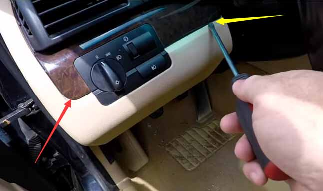 How to Remove and Install BMW Light Control Module-2