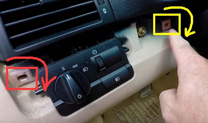 How to Remove and Install BMW Light Control Module-3