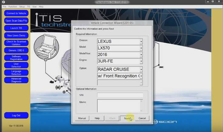 How to Reset Toyota Password Immo code with Techstream-(3)