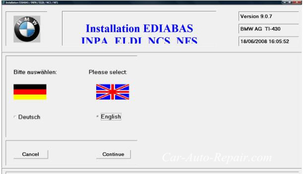 How To Install BMW Ediabas INPA On Win XP Vista (5)