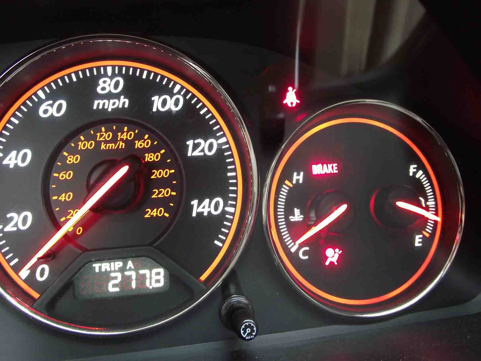 How To Reset Honda Acura SRS Light On (1)