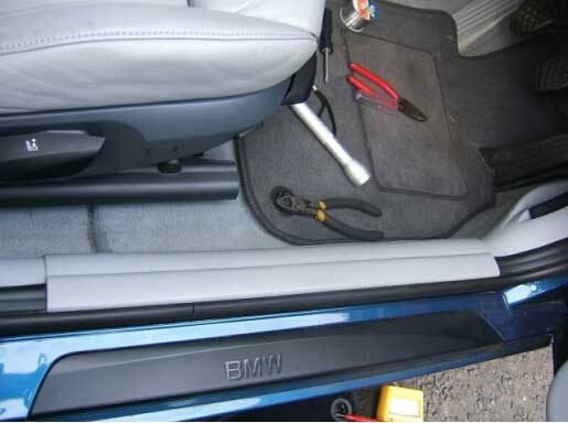 How to Remove BMW FRM Footwell Module-3