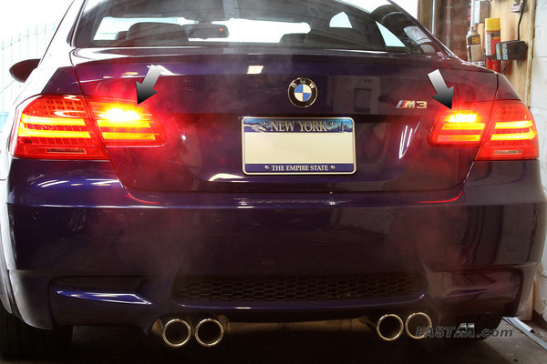 How to Enable BMW E92 M3 Rear Fog lights