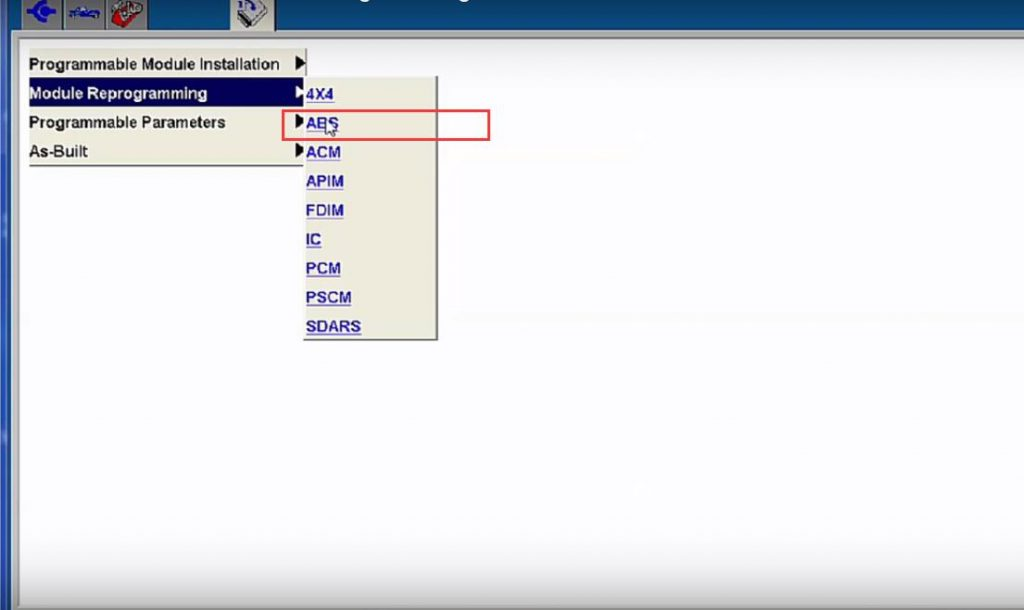 Ford ABS Module Programming By Ford IDS (6)