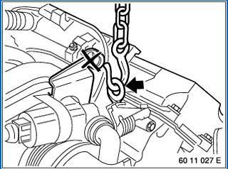 How-to-Remove-and-Install-Engine-M62-for-BMW-7-Series-11