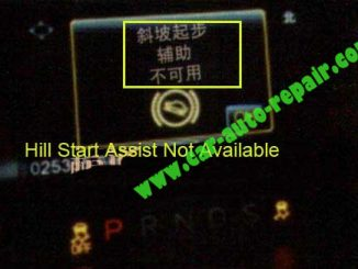 Ford Mustang Hill Start Assist Not Available1