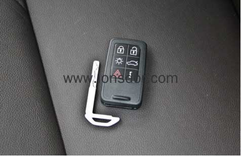 How to Program Smart Key for Volvo S60 Full Keyless-19