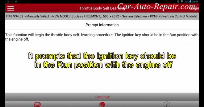 FIAT 2012 Throttle Body Self Learning Guide-4