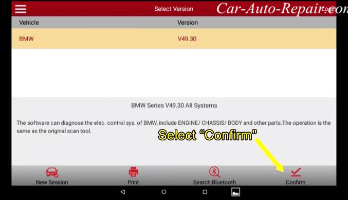 How to Coding for BMW E-series Footwell Module (FRM) by X431 (1)
