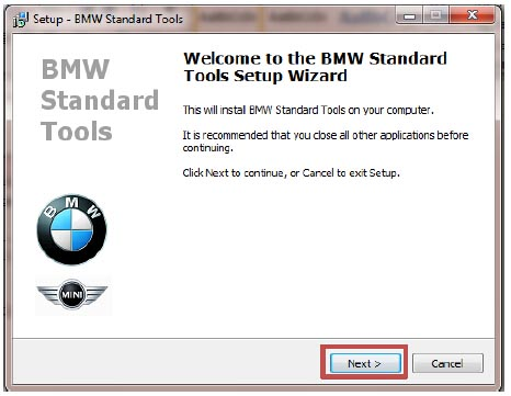 How to Install BMW Standard 2.12 Software (3)
