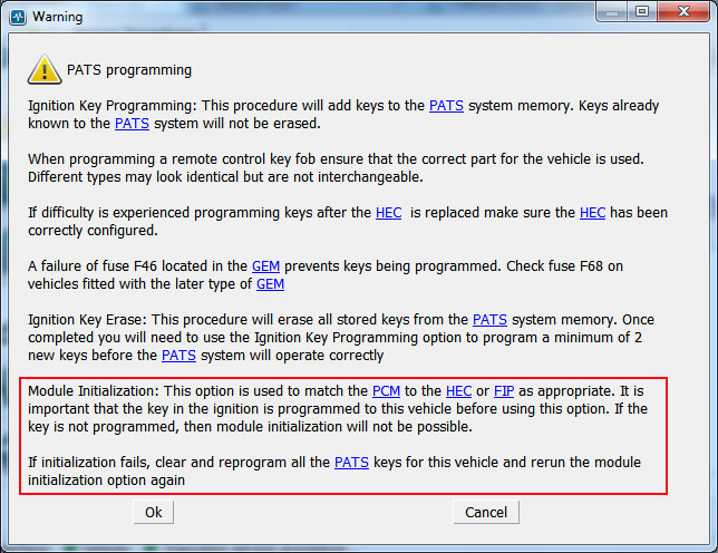 How to Program A New PAT Key by Yourself (1)