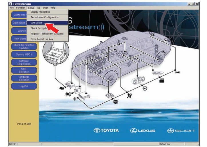 "This article introduce the procedures of Techstream TIS ECU Flash Reprogramming.Flash reprogramming allows the ECU software to be updated without replacing the ECU. Flash calibration updates for specific vehicle models/ECUs are released as field-fix procedures described in individual Service Bulletins. This bulletin details the Techstream ECU flash reprogramming process and outlines use of the Technical Information System (TIS) and the Calibration Update Wizard (CUW). Flash calibration updates can only be applied to the vehicle/ECU combination for which they are intended. ECUs have internal security that will not allow them to be programmed with another ECU's information. Toyota TIS Techstream v12.20.024 Installation Guide Latest Toyota TIS Techstream V13.00.022 Software Free Download PS:ECU Electronic Control Unit (ECU) is a Toyota term used to describe integrated computerized devices responsible for managing the operation of a system or subsystem. For the purposes of this bulletin, the term ""ECU"" is used as a generic label for the following SAE J1930 standard references: 1Powertrain Control Module (PCM) 2Engine Control Module (ECM) 3Transmission Control Module (TCM) 4Or any other Toyota specific control unit What vehicle models this guide applicability: Year from:2001-2013 Vehicle models:4Runner, Avalon, Camry, Camry HV, Celica, Corolla, Echo, FJ Cruiser, Highlander, Highlander HV, Land Cruiser, MR2 Spyder, Matrix, Prius, Prius C, Prius PHV, Prius V, RAV4, Sequoia, Sienna, Solara, Tacoma, Tundra, Venza, Yaris Techstream ECU flash reprogramming is a 4-step process: 1 Verify the vehicle's applicability for recalib ration and locate desired calibration file by performing the Techstream Health Check function. NOTE Techstream will automatically search TIS for the appropriate Service Bulletin using the current Calibration ID from the vehicle.Calibration file links can be found embedded in the corresponding Service Bulletin. 2Connect the GR8 Battery Diagnostic Stationusing ""PowerSupplyMode""only. The GR8 Battery Diagnostic Station includes a Power Supply Mode to help maintain battery voltage at 13.5 volts during ECU reprogramming. NOTICE ECU damage may occur if the correct battery charger mode setting is NOT used. 3Locate appropriate calibration ID and reprogram the vehicle ECU withTechstream. Techstream uses the Calibration Update Wizard(CUW) application to open calibration files and facilitate the ECU flash reprogramming process. 4Attach the Authorized Vehicle Modification Label. Modifications to ECU calibrations MUST be recorded and properly displayed on the vehicle using the Authorized Modification Label Techstream ECU Flashing Preparation: Selecting the TIS Techstream VIM or the Mongoose MFC VIM. Techstream software requiresa VIM selection before you can use the Mongoose MFC VIM. If using TIS Techstream,no changes are needed. Perform the following: 1Select Setup from the Techstream Main Menu screen. 2Select VIM Select from the Set up drop down menu 1 3Select the correct Interface Set up from the drop down list. If using Techstream Lite,select Mongoose MFC NOTE Mongoose MFC Software and Driver MUST be installed before Mongoose MFC selection will be available. See TIS–Diagnostics–Scan tool page for additional information Select Mongoose MFC to Use Techstream Lite 2 If using TIS Techstream,select TIS Techstream VIM (this is the default) Select TIS Techstream VIM (default )to Use TIS Techstream 3 4Click OK Toyota Techstream TIS Reprogramming ECU Flash Procedures: 1 Verify the vehicle's applicability for recalibration and locate desired calibration file. A Connect Techstream and establish a vehicle connection. B Click the Health Check button on the System Select tab 4 C Choose desired ECU group(s) in the Health Check dialog box 5 D Click Next. E Click Continue to view Health Check result 6 F Available calibration updates are indicated by a Yes link in the Cal.Update? column. Click the Yes link to acces sthe appropriate Service Bulletin onTIS NOTE Note:any DTCs stored in systems that will be flash reprogrammed. Clicking the Yes link will automatically launch TIS and perform a calibration search 7 G Login to TIS.(If already logged in,skip this step.) H To review the Service Bulletin and access the calibration file,click the Service Bulletin link in the Document Title column of the Calibration Search Result portlet. NOTE:Only Toyota Certified Technicians and above may access calibration files 2 Connect the GR8 Battery Diagnostic Station. A Connect the GR8 Battery Diagnostic Station to the vehicle and turn it ON. B Select Power Supply Modeby following the screen flow below NOTICE ECU damage may occur if the correct battery charger and mode setting are NOT used. Power Supply Mode is used to maintain battery voltage at 13.5 volts while flash reprogramming the vehicle. For details on how to use the GR8 Battery Diagnostic Station,refer to the GR8 Instruction Manual located on TIS, Diagnostics–Tools & Equipment–Battery Diagnostics. 9 Confirm Power Supply ModeIs Selecte 3.Click the appropriate calibration ID and reprogram the vehicle's ECU with Techstream. A After reviewing the procedures outlined in the selected Service Bulletin,click the appropriate calibration ID link by matching the vehicle's current calibration ID to the Previous Calibration ID in the Calibration Identification Chart NOTE Calibration files are embedded as live links in the Service Bulletin. Some vehicles require special preparation—please review the selected Service Bulletin carefully 10 B Click Open to load calibration file information. NOTE Techstream pulls calibration files as needed to ensure the latest calibration file is used. Do NOT save calibrations locally on the hard drive or other media. 11 NOTICE Errors during the flash reprogramming process scan permanently damage the vehicle ECU. Minimize the risk by following the steps below. 1Battery voltage MUST NOT FALL BELOW 11.4 volts during reprogramming.Confirm battery voltage is higher than 11.4 volts,but be sure voltage DOES NOT RISE ABOVE 16.0 volts duringreprogramming. 2Turn OFF all vehicle accessories(e.g.audio system,A/C,interior lights,DRL,etc.).Do NOT add to or significantly change thev ehicle's electrical load while reprogramming. 3Confirm the hood is open and ensure under hood temperature does NOT exceed158◦F(70◦C). 4Confirm cable connections between the vehicle and Techstream are secure. 5Do NOT disconnect or turn off Techstream or vehicle ignition during reprogramming. 6Set parking brake. 7Complete ALL flash calibration updates provided for each ECU. 8If the battery's state of charge or capacity are in question,test with SST.No. 00002-V8150-KIT ""Digital Battery Analyzer,""and follow Service Bulletin No. PG001-06,""Battery Maintenance for In-Stock Vehicles & Pre-Delivery"",or the appropriate ""Maintenance for HV & Auxiliary Batteries ""Service Bulletin. 9The GR8Battery Diagnostic Station MUST be used in Power Supply Mode to maintain battery voltage at 13.5 volts while flash reprogramming the vehicle.For details on how to use the GR8 Battery Diagnostic Station,refer to the GR8 Instruction Manual located on TIS, Diagnostics–Tools & Equipment–Battery Diagnostics C Click Next to start the calibration update process 12 D When using TIS Techstream,select Techstream VIM as the desired programming device. Then click Next 13 When using Techstream Lite,select Generic J2534 Interface.Then click Next 14 E Confirm the following: •PC is connected to VIM. •VIM is connected to DLC3 connector. •Ignition is ON and engine is OF For ""READY"" OFF(hybrid vehicles). Then click Next 15 16 F Verify correct current calibration and new calibration information.Thenc lick Next NOTE •The total number of calibration IDs in the calibration file corresponds to the number of reprogrammable processors in the ECU. •Each calibration file may contain up to three separate calibrations. •Below figure shows an example of the update procedure for a two-processor ECU 17 G Turn ignition OFF .Then click Next 18 H Confirm the following: •Ignition is ON and engine is OFF or ""READY"" OFF (hybrid vehicles). •Hood is open. •All accessories are OFF . •Battery voltage is above 11.4 volts. NOTICE Verify the vehicle is connected to a battery charger before continuing—If battery voltage falls below 11.4 volts,ECU damage may occur. Then click Start 19 NOTE If key cycle is NOT done properly,reprogramming will stop at 10% and Cal1will fail to load I Do NOT disturb the vehicle during flash reprogramming NOTE •ECU flash reprogramming may take anywhere from 3–30 minutes per calibration file. •Reprogramming time will vary depending on model and ECU communication protocol. Vehicles using CAN communication protocol will reprogram much faster (2–7minutes) 20 NOTE •If vehicle requires only ONE calibration update,then proceed to step Ninthisbulletin. •If vehicle requires a SECOND calibration update,then continue as follows: •For serial communication vehicles,go to step J. •For CAN communication vehicles,goto step L J When Cal 1 has completed the update process,turn ignition OFF for a minimum of 10 seconds.Then click Next 21 K Turn ignition to the ON position.Then click Start 22 NOTE If key cycle is NOT done properly,reprogramming will stop at 10% and Cal 2 will fail to load L Do NOT disturb the vehicle during flash reprogramming 23 M Turn ignition OFF for a minimum of 10 seconds.Then click Next 24 N Turn ignition to the ON position.Then click Next 25 O Confirm all calibrations were updated as specified in the Service Bulletin.Then click Finish 26 NOTE On some models,DTCs may set as a result of reprogramming.If DTCs are present,clear codes and run the Health Check again.Troubleshoot any remaining Current,Pending,or History codes.Permanent codes will not be cleared using Techstream.Permanent codes do not illuminate the MIL and do not require troubleshooting.They will clear during normal driving once the Universal Trip Drive Pattern is performed. 4 Attach the Authorized Modifications Label. A Using a permanent marker or ballpointpen,complete the Authorized Modifications Label and attach to the vehicle.The Authorized Modifications Lablis available through the MDC, P/N00451-00001-LBL 27 B Attach the label under the hood in the location determined by the specific Service Bulletin or Campaign NOTE Wait 60–90 seconds for ink to set before handling"