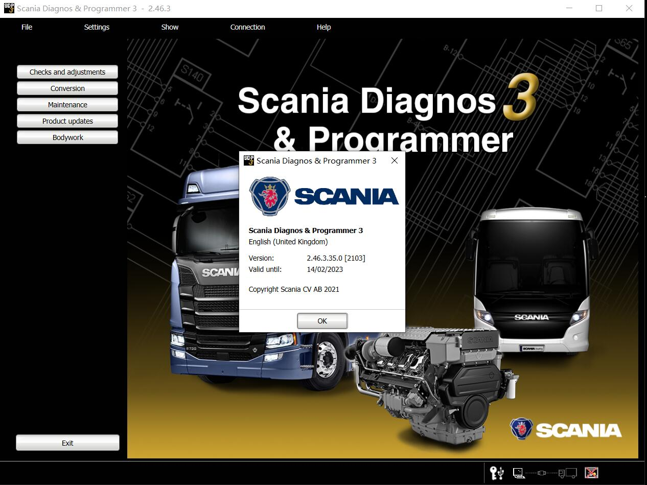 Newest Scania SDP3 V2.46.3