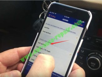 BMW Carly App to ActiveDisable Speed Limit Warning for BMW X1 (11)