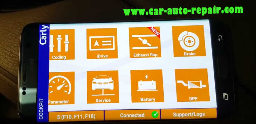 Carly BMW Register Battery for BMW F10 535i 2011 (10)