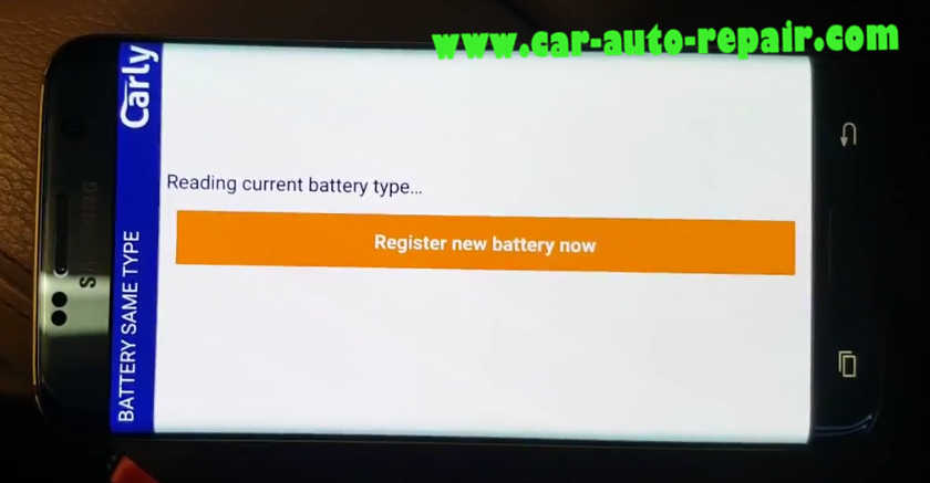 Carly BMW Register Battery for BMW F10 535i 2011 (15)