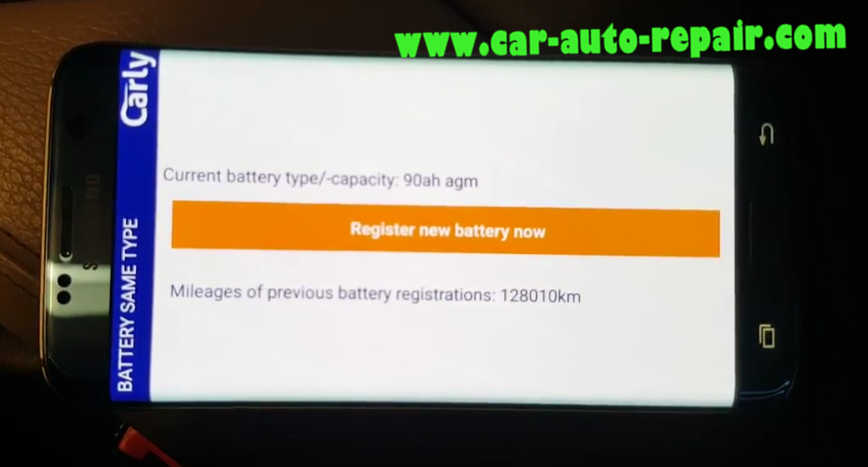 Carly BMW Register Battery for BMW F10 535i 2011 (16)