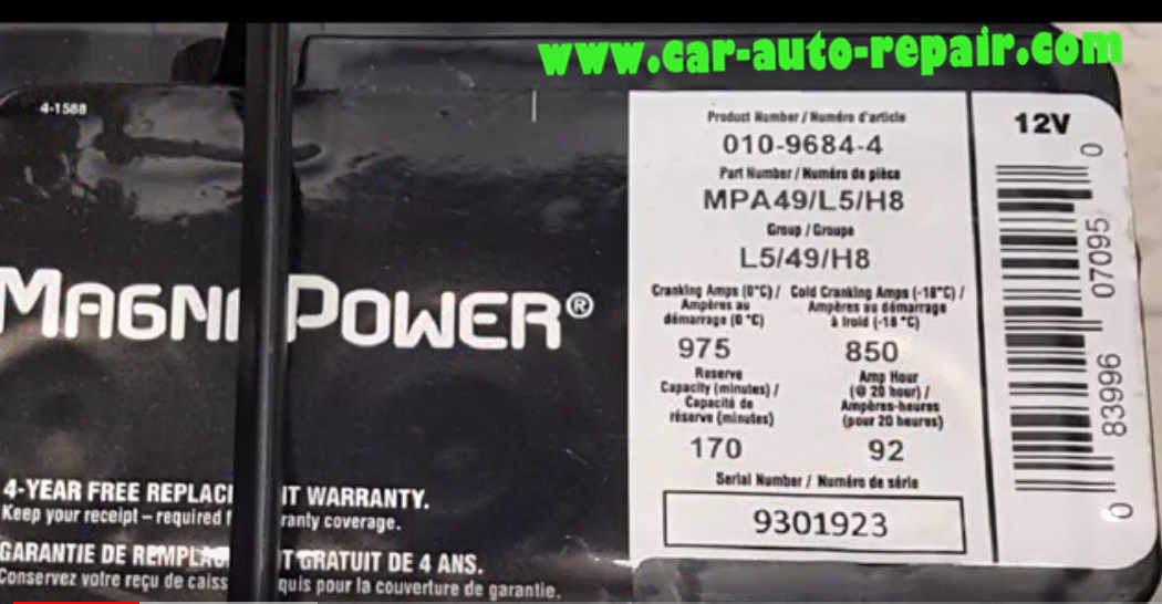 Carly BMW Register Battery for BMW F10 535i 2011 (2)