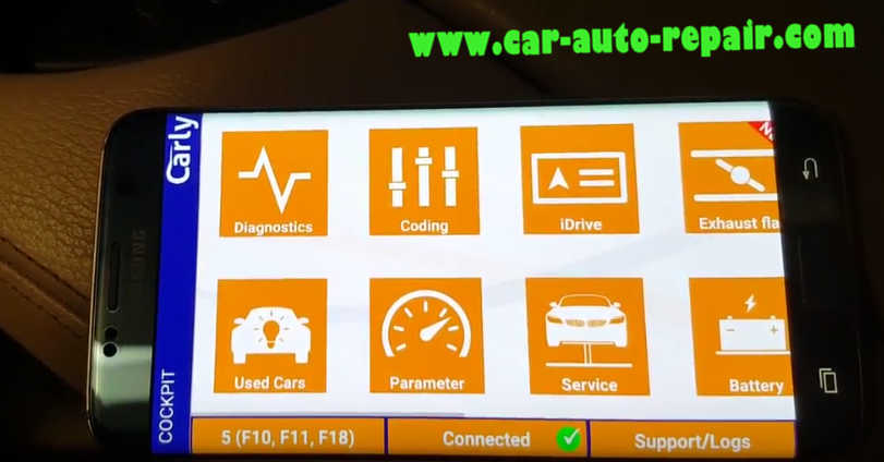 Carly BMW Register Battery for BMW F10 535i 2011 (9)