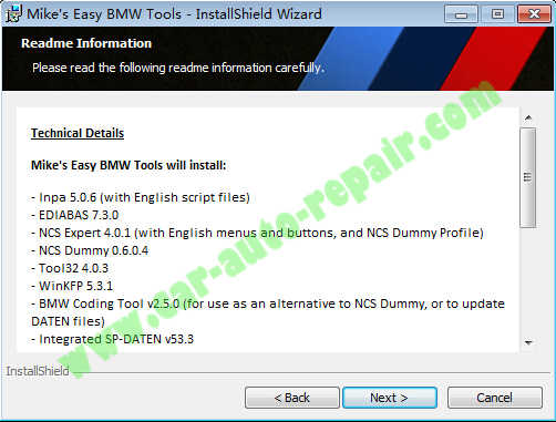 Mike Easy BWM Tool Download Installation on Win XP7810 (3)