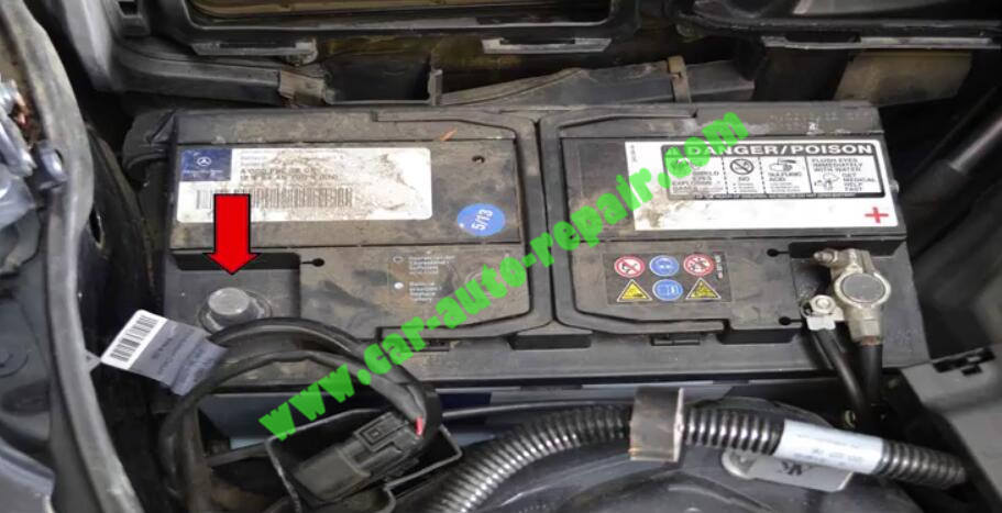 How to Remove & Replace Benz ESL ELV Electronic Steering Lock (2)