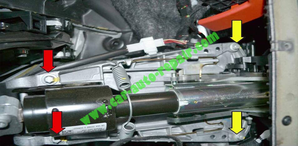How to Remove & Replace Benz ESL ELV Electronic Steering Lock (6)