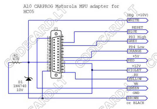 Carprog Read MC68HC05 Processor Guide (5)