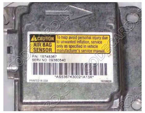 GM 1999-2005 Deloo Airbag Reset by Caprog (1)
