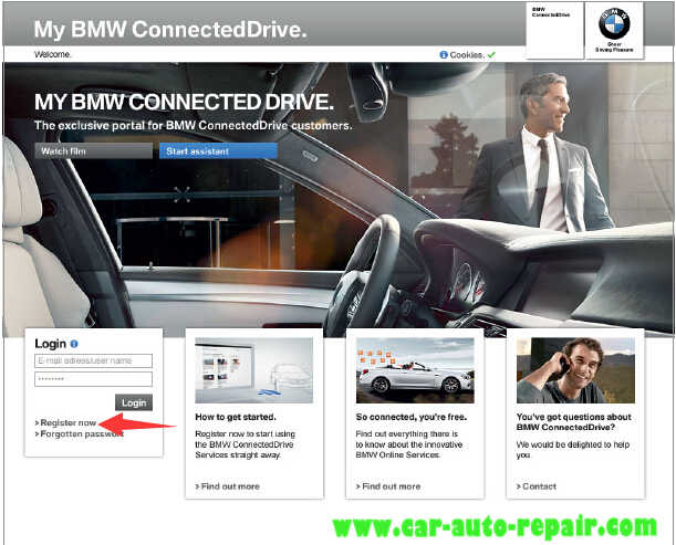 How to Register and Use BMW ConnectedDrive (1)