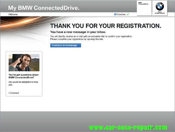 How to Register and Use BMW ConnectedDrive (3)
