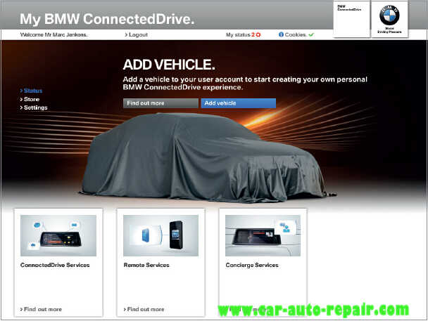 How to Register and Use BMW ConnectedDrive (4)