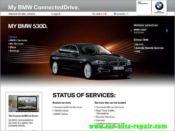 How to Register and Use BMW ConnectedDrive (6)