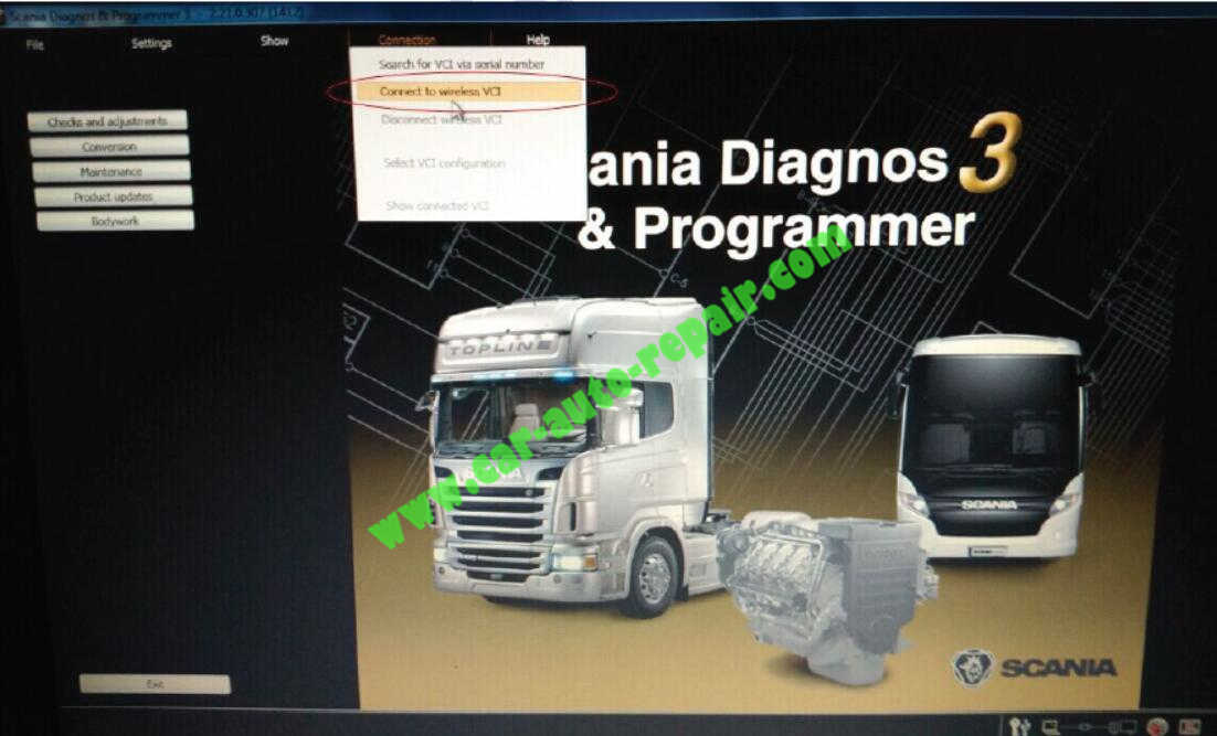 How to Setup WIFI for Scania VCI-3 VCI3 V2.21 (4)