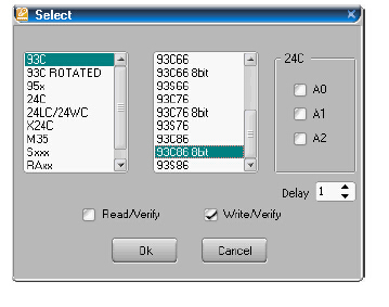 How to Use Carprog to Read EEPROM (3)