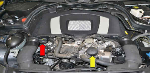 How to Replace Benz W204 Engine Oil Filter (2)