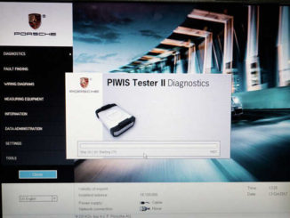Porsche PIWIS II 2 Perform a Forced PDK Update for Porsche (4)