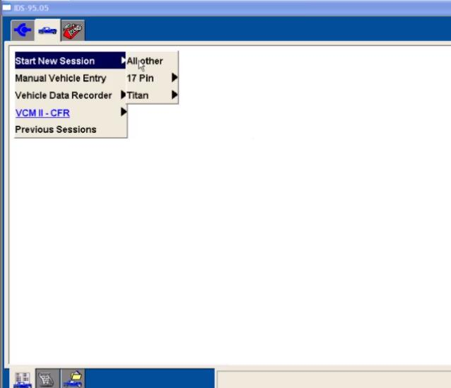 Ford IDS Configure Parameter for Ford Mondeo (1)