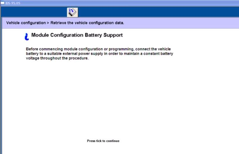 Ford IDS Configure Parameter for Ford Mondeo (10)