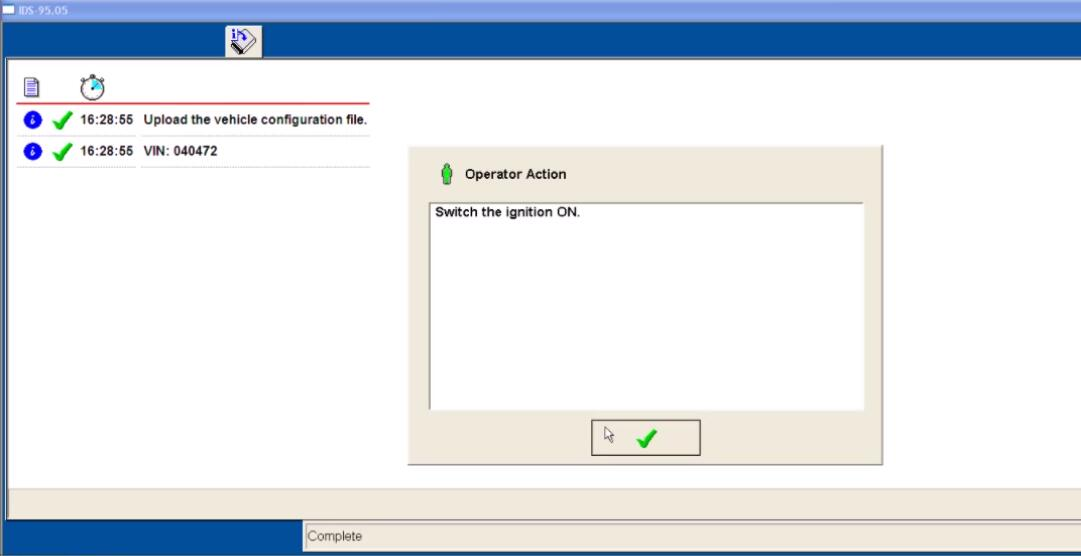 Ford IDS Configure Parameter for Ford Mondeo (14)