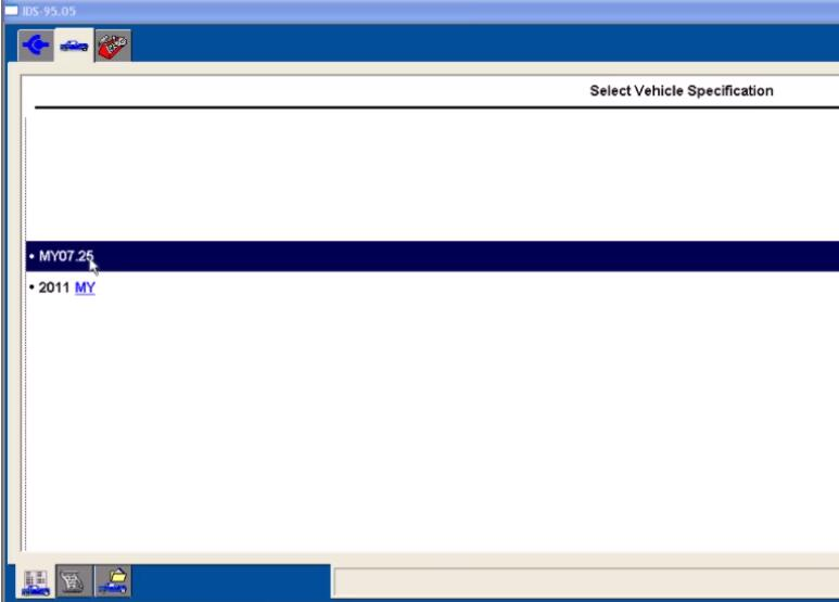 Ford IDS Configure Parameter for Ford Mondeo (2)