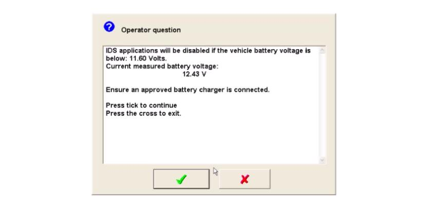 Ford IDS Configure Parameter for Ford Mondeo (21)