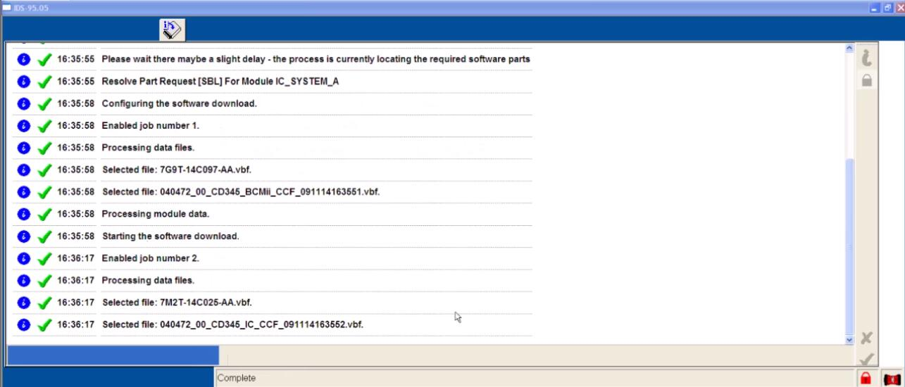 Ford IDS Configure Parameter for Ford Mondeo (24)