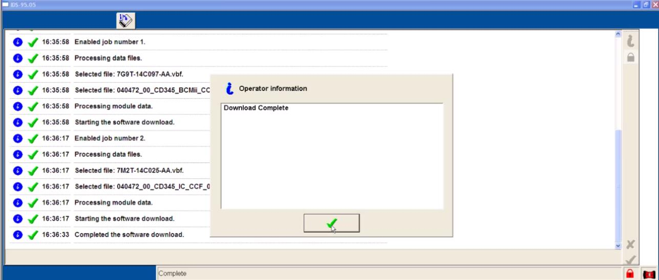 Ford IDS Configure Parameter for Ford Mondeo (25)