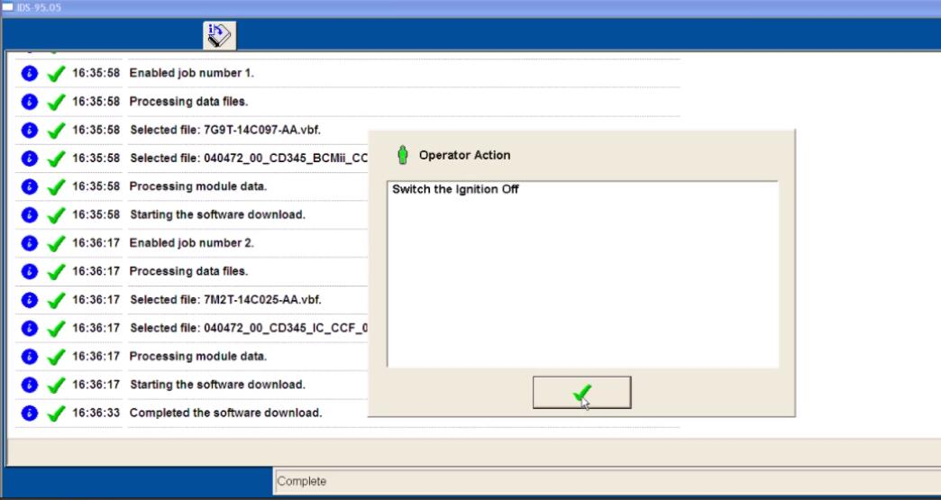 Ford IDS Configure Parameter for Ford Mondeo (26)